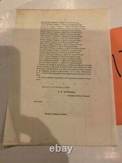 119 Civil War USCT Colored Troops Roster Transfer General Order 1865 Extracts