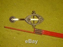 1860'S CIVIL WAR CAMELBACK telegraph key G. M. PHELPS, W. UNION TELEGRAPH CO