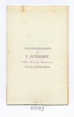 1860's GENERAL WINFIELD SCOTT SIGNED CIVIL WAR CDV PHOTO FROM GEN. CROSMAN ALBUM