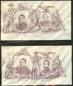 1861 Civil War Patriotic covers General George McClellan 11 different