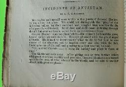 1865 CIVIL WAR Monthly THE SOLDIERS CASKET Memorial GENERAL SHERMANs SON WILLY