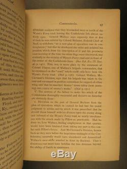 1868 Campaigns of General Nathan Forrest Confederate Civil War KKK Pryor Jordan