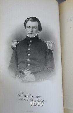 1885 set PERSONAL MEMOIRS OF GENERAL ULYSSES S. GRANT Union Army Civil War 2vols