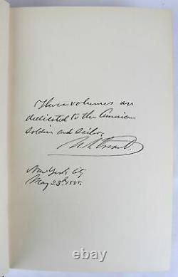 1885 set PERSONAL MEMOIRS OF GENERAL ULYSSES S. GRANT Union Civil War 2vols FINE