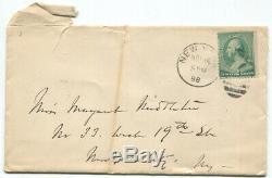 1888 Civil War General William Tecumseh Sherman Writes Friend About New Home