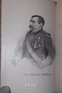 1888 Little Phil And His Troopers Life Of General Philip H. Sheridan CIVIL War
