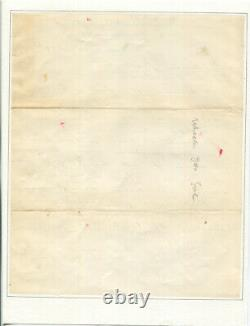 1897 Civil War Confederate General Joseph Wheeler Autograph Letter Signed