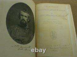 1899 Life of General Nathan Bedford Forrest 1899 Rare Civil War book John Wyeth