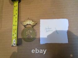 #1 CIVIL WAR U. C. V MEDAL / New Orleans 1906 Reunion General Lee Pin