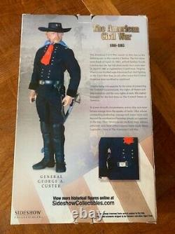 2005 Sideshow General George A Custer Civil War 12 action figure
