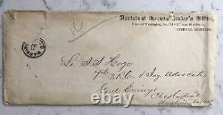 2 CIVIL War Letters Als Signed By General Edward P. Fyffe Promotion Soloman Hoge