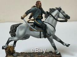 54mm CIVIL WAR CAVALRY CONFEDERATE GENERAL JEB STUART Mounted St Petersburg 1/30
