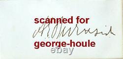 Ambrose E. Burnside Autograph Vtg Union Army General CIVIL War Nra