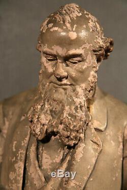 American Civil War Cast Plaster Sculpture Abraham Lincoln Stanton General Grant