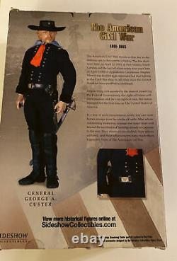 American Civil War General George A. Custer Deluxe Action Figure Sideshow Rare