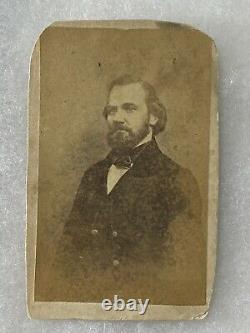 Antique CDV Photograph Confederate General Laurence Massillon Keitt Civil War