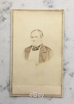 Antique CDV Photograph Confederate General William Barksdale Anthony CIVIL War