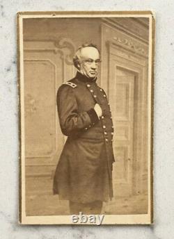 Antique CDV Photograph Union General Henry Haddock CIVIL War Appleton Standing
