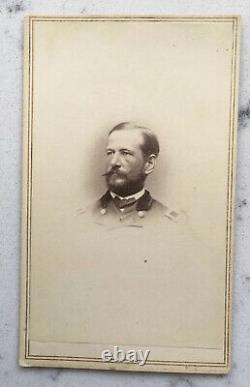 Antique CDV Photograph Union Major General Alfred Pleasonton CIVIL War Brady