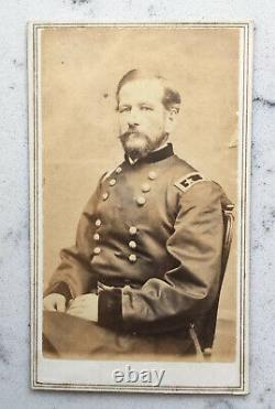 Antique CDV Photograph Union Major General Alfred Pleasonton CIVIL War Frederick
