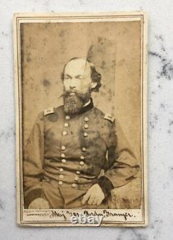 Antique CDV Photograph Union Major General Gordon Granger Webster CIVIL War