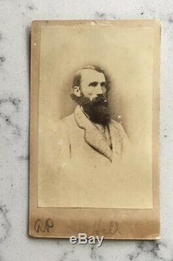 Antique CIVIL War CDV Photograph Confederate General Ap Hill Csa Anthony