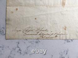 Antique CIVIL War Union Major General Philip Kearny Als Signed Autograph Letter