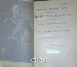 Book Indian War Civil General Battle History Campaigns Remington West Cavalry US