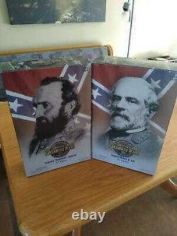 Brotherhood of Arms Civil War Action Figures General Lee and Jackson