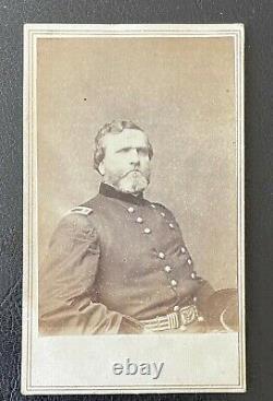 CIVIL WAR UNION GENERAL GEORGE H. THOMAS CDV PHOTO by BRADY & ANTHONY