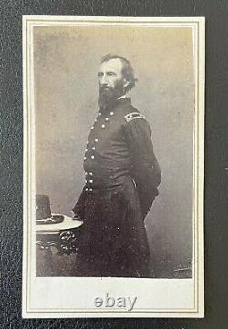 CIVIL WAR UNION MAJOR GENERAL JOHN A. McCLERNAND CDV PHOTO by MATHEW BRADY