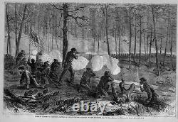 CIVIL War Battle Of Ezra's Church General Sherman Campaign 1864 Flag History