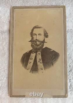 CIVIL War CDV Confederate General Jeb Stuart