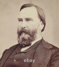 CIVIL War Confederate General James Longstreet Rare Original Mathew Brady