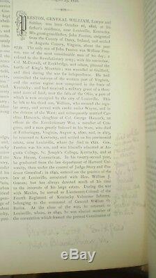 CIVIL War Confederate General William Preston's Copy Signed, 1878, Kentucky