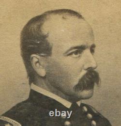 CIVIL War General Daniel Butterfield, Signed CDV