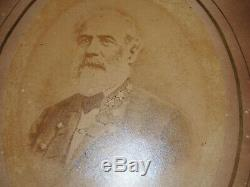 CSA General Robert E Lee CABINET SIZE PHOTO Civil War