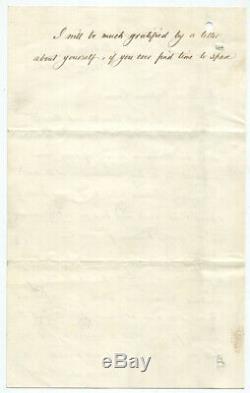 C. 1863 Civil War General Thomas Kane Autograph Letter Signed