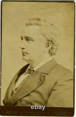 Cabinet Card Alfred H. Colquitt Confederate CIVIL War General Us Senator