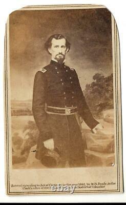 Carte de Visite Civil War Confederate General Felix Zollicoffer KIA