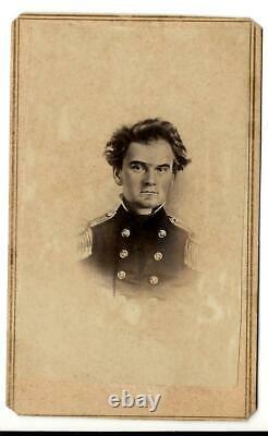 Carte de Visite Civil War Confederate General William Henry Parsons Texas
