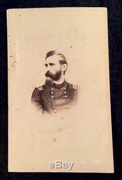 Carte-de-visite cdv photograph of LEW WALLACE Civil War General