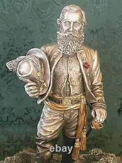 Chilmark Pewter Civil War Sculpture General J. E. B STUART Limited Ed # 57 of 350