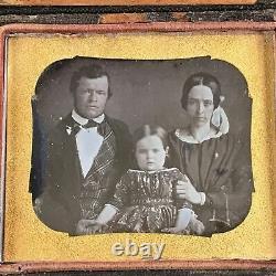 Circa 1845 Akron, Ohio Mayor General Civil War George McNeil Photo Daguerreotype