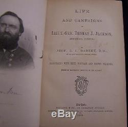 Civil War Battle General Jackson Lee Memoirs Union US CSA Army Cavalry Campaigns