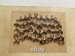 Civil War CDV, Abraham Lincoln and His Union Generals