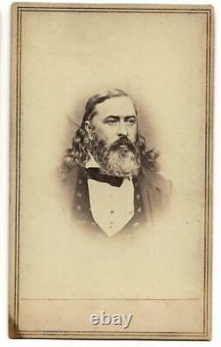 Civil War CDV Confederate General Albert Pike