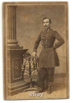 Civil War CDV Confederate General Daniel Frost