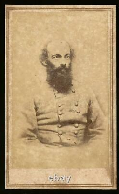 Civil War CDV Confederate General E Kirby Smith