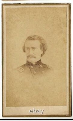 Civil War CDV Confederate General Mansfield Lovell by Gurney